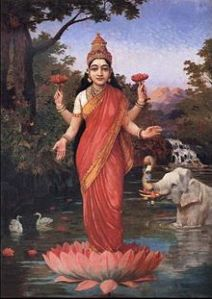 220px-Ravi_Varma-Lakshmi